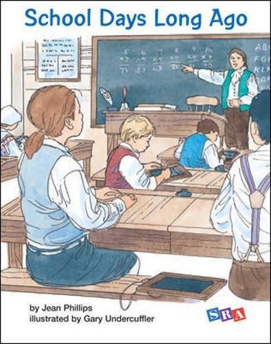 9780075717928: OPEN COURT READING - DECODABLE SCHOOL DAYS LONG AGO LEVEL 3 (IMAGINE IT)