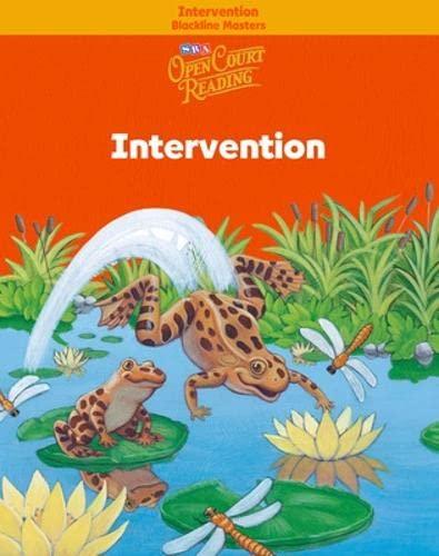 9780075719083: Open Court Reading - Intervention Blackline Masters - Grade 1