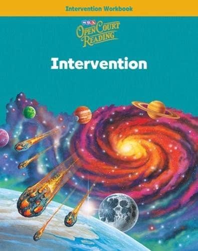 9780075719113: Open Court Reading - Intervention Workbook - Grade 5