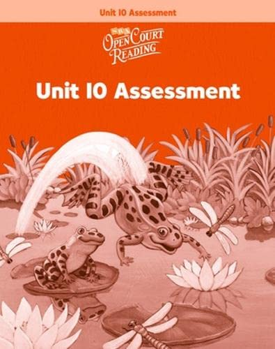 9780075719151: Open Court Reading: Unit 10 Assessment Workbook Level 1