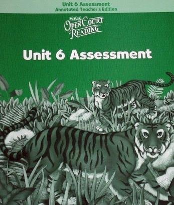 9780075719205: Open Court Reading: Unit 6 Assessment Annotated Teacher Edition Level 2