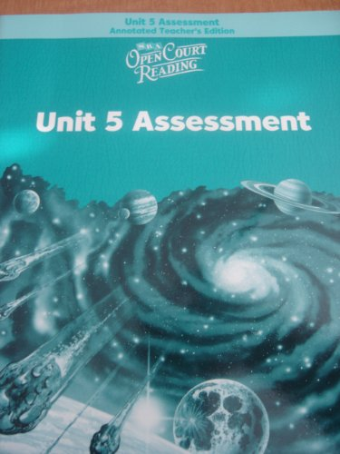 9780075719250: SRA: Open Court Reading, Unit 5 Assessment, Annotated Teacher's Edition, Level 5