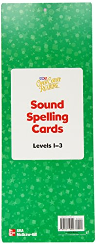 9780075719410: Open Court Reading Sound Spelling Wall Cards, Level 1-3 (OCR Staff Development)