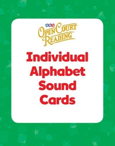 9780075719427: Open Court Reading - Sound/Spelling Individual Cards - Grades 1-3