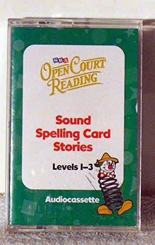 9780075719434: Open Court Reading - Sound Spelling Card Stories Level 1-3