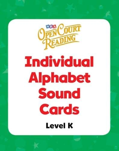 Open Court Reading - Alphabet Sound Individual: WrightGroup/McGraw-Hill