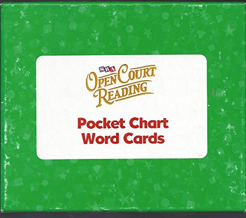 9780075719472: OPEN COURT READING - POCKET CHART WORD CARDS LEVEL K