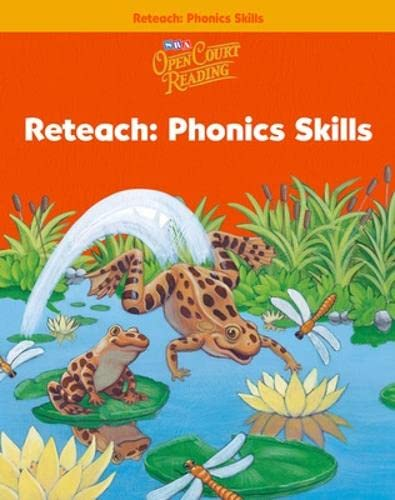 9780075720188: Open Court Reading - Reteach Workbook - Phonics Skills - Grade 1