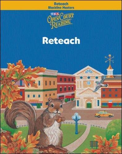 9780075720379: Open Court Reading - Reteach Blackline Masters - Grade 3
