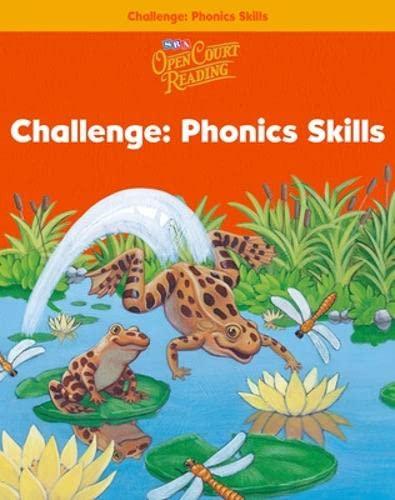 9780075720423: Open Court Reading - Challenge Phonics Skills Level 1 Book 1