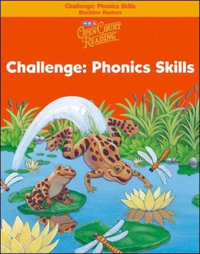 9780075720584: Open Court Reading - Challenge Blackline Masters - Phonics Skills - Grade 1