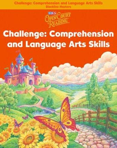 9780075720591: Open Court Reading - Challenge Blackline Masters - Comprehension and Language Arts Skills - Grade 1