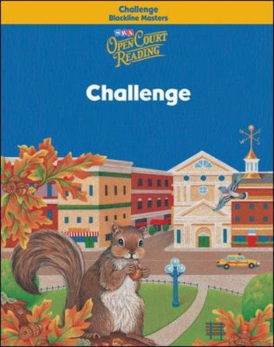 9780075720614: Open Court Reading - Challenge Blackline Masters - Grade 3