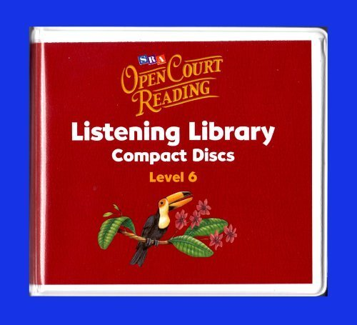 9780075721123: Open Court Reading -Listening Library CDs - Grade 6: Listening Library CD, Additional Resources, Grade 6