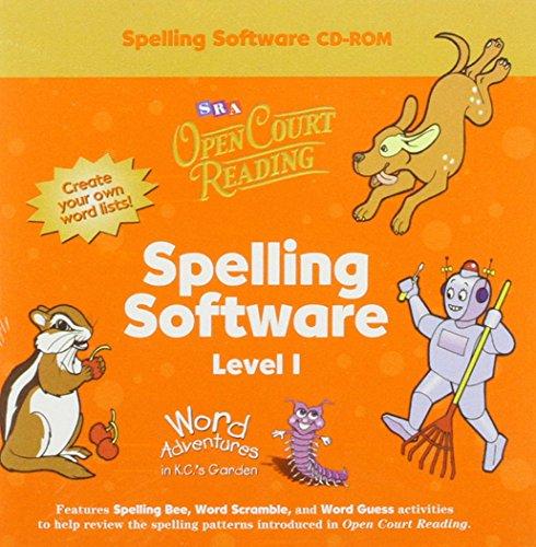 9780075721536: Open Court Reading - Spelling CD-ROM - Grade 1