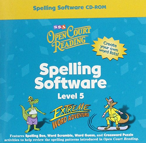 9780075721574: Open Court Reading - Spelling CD-ROM - Grade 5