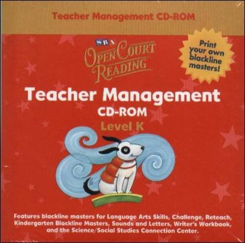9780075721598: Open Court Reading - Teacher Management CD-ROM - Grade K