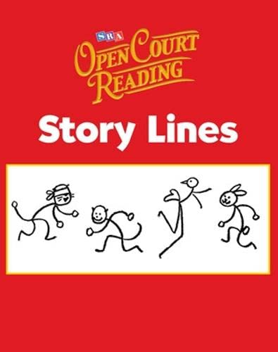 9780075721840: Open Court Reading, Story Lines, Grade K: Story Lines Level K (IMAGINE IT)