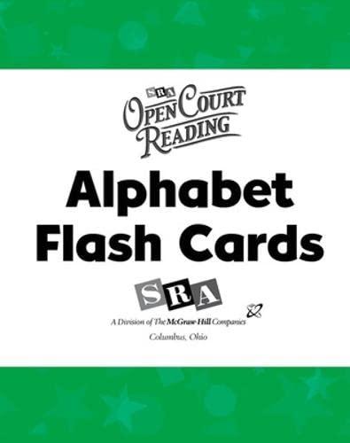 9780075721857: Open Court Reading: Alphabet Flash Cards Level K-1