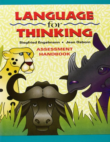 9780075721888: Language for Thinking - Mastery Test Package