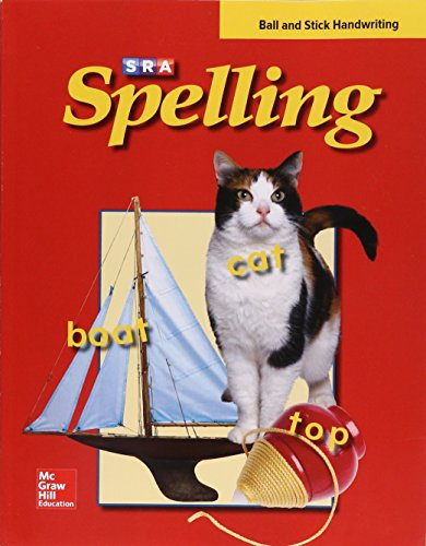 9780075722854: SRA Spelling: Ball and Stick Handwriting: Level 1