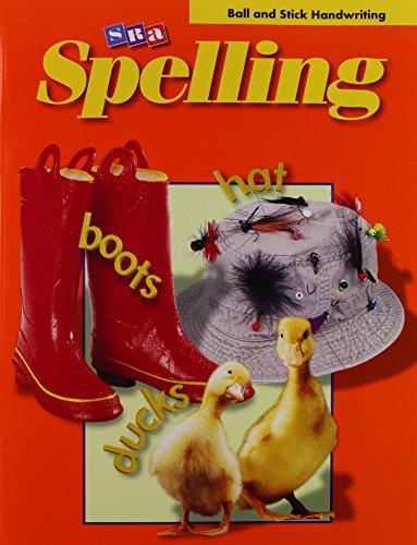 SRA Spelling: Grade 2, Ball and Stick: Roser, Nancy L.;