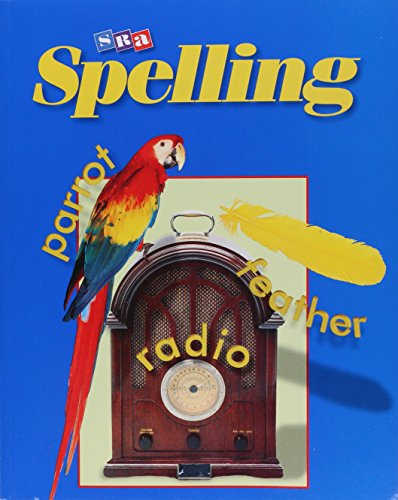 9780075722908: SRA Spelling, Student Edition (softcover), Grade 5
