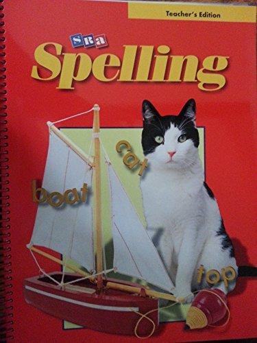 9780075722922: SRA Spelling: Teacher's Edition - Grade 1