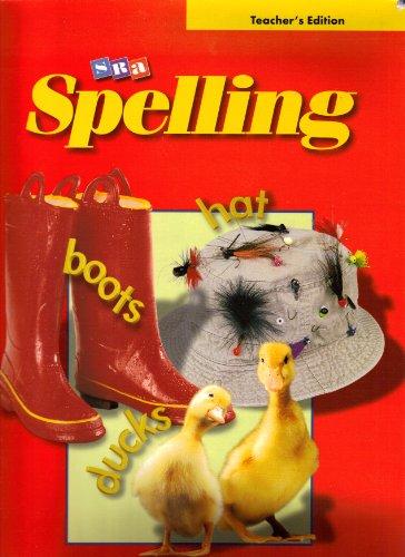 SRA Spelling, Grade 2 Teacher's Edition (2002: Dr. Nancy L.