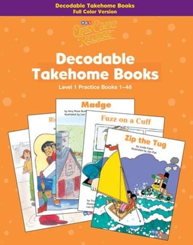 9780075723073: Open Court Reading - Practice Decodable Takehome Books (Books 1-48) 4-color (1 workbook of 48 stories) - Grade 1: Practice Takehome 4 Color (Part 1), Decodable Books, Grade 1 (Imagine it)