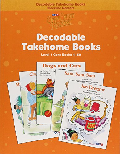 9780075723097: Open Court Reading - Core Decodable Takehome Blackline Masters (Books 1-59 )(1 Workbook of 59 Stories) - Grade 1