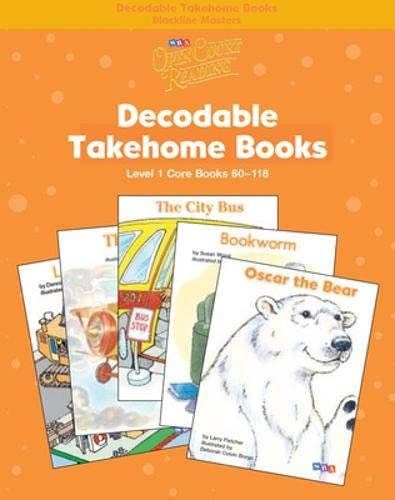 9780075723103: Open Court Reading - Core Decodable Takehome Blackline Masters (Books 60-118) (1 Workbook of 59 Stories) - Grade 1