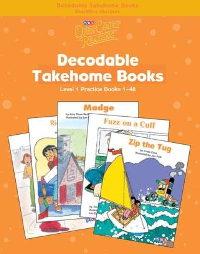 9780075723110: Open Court Reading - Practice Decodable Takehome Blackline Masters (Books 1-48 ) (1 workbook of 48 stories) - Grade 1: Practice Decodable Takehome ... Decodable Books, Grade 1 (Leap into Phonics)