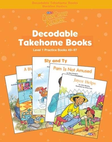 9780075723127: Open Court Reading - Practice Decodable Takehome Blackline Masters (Books 49-97 )(1 Workbook of 48 Stories) - Grade 1