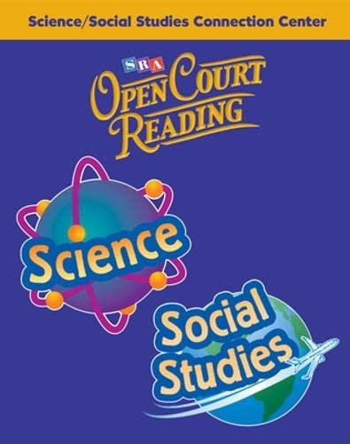SRA OPEN COURT READING 4, SCIENCE SOCIAL