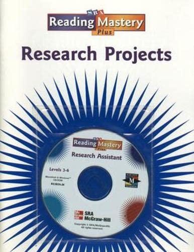Reading Mastery Level 3 Research Projects: McGraw-Hill