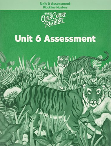 9780075725152: Open Court Reading - Unit Assessment Blackline Masters (units 1-6) - Grade 2