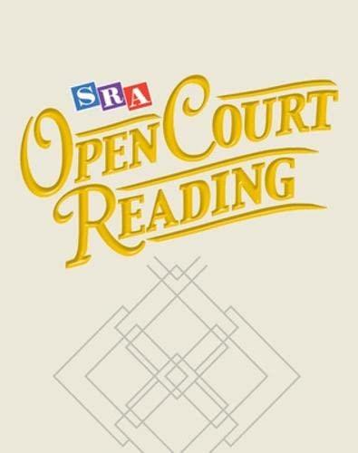 9780075725176: Open Court Reading - Unit Assessment Blackline Masters Package - Units 1-6 -Grade 4
