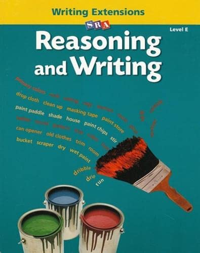 9780075725404: Reasoning and Writing - Writing Extensions Blackline Masters - Level E