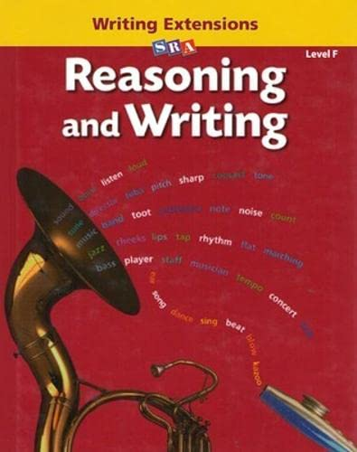 9780075725411: Reasoning and Writing - Writing Extensions Blackline Masters - Level F