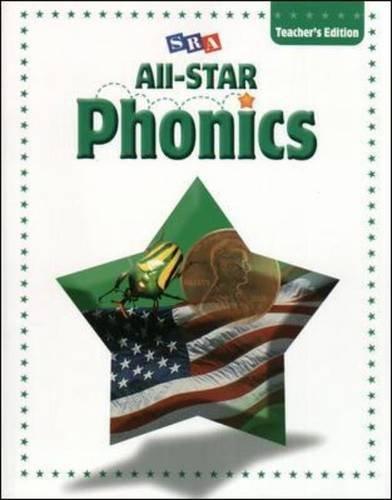 9780075725671: All-STAR Phonics & Word Studies - Teacher's Edition - Level B