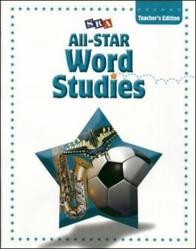 9780075725701: All-STAR Phonics & Word Studies - Teacher's Edition - Level E