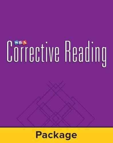 9780075727064: CORRECTIVE READING - COMPREHENSION B2 STUDENT WORKBOOK PACKAGE OF 5
