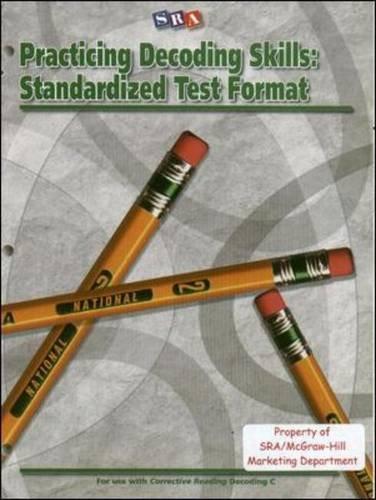9780075727842: Practicing Decoding Skills: Standardized Test Format - Level C Blackline Masters
