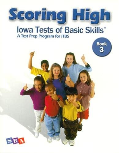 9780075728160: Scoring High: Iowa Tests of Basic Skills (ITBS) Grade 3, Student Edition