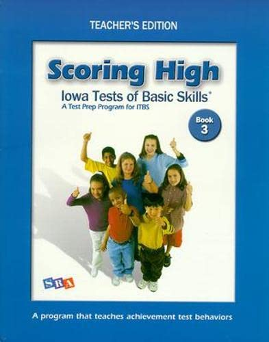 9780075728245: Scoring High: Iowa Tests of Basic Skills- A Test Prep Program for ITBS, Book 3
