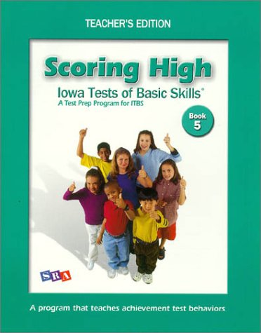 9780075728269: Scoring High on Itbs: Teacher Edition Grade 5