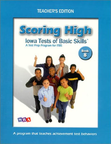 9780075728290: Scoring High on Itbs: Teacher Edition Grade 8