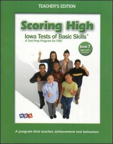 9780075735595: Scoring High Teacher Edition W/Poster, Grade 7
