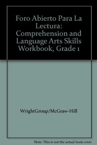 9780075791676: Foro Abierto Para La Lectura: Comprehension and Language Arts Skills Workbook, Grade 1